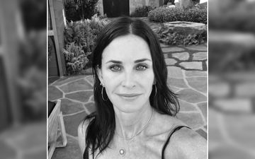 FRIENDS Star Courteney Cox Aka Monica Takes A Good Night Sleep With Her Furry Friends – See Pic