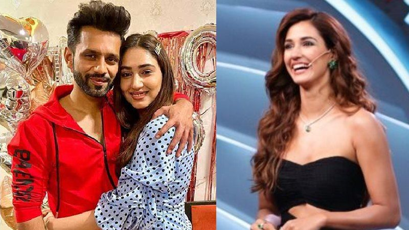 Disha Patani Drops A Few Sizzling Pictures On Instagram; Bigg Boss 14's Rahul Vaidya Connects It To His GF Disha Parmar