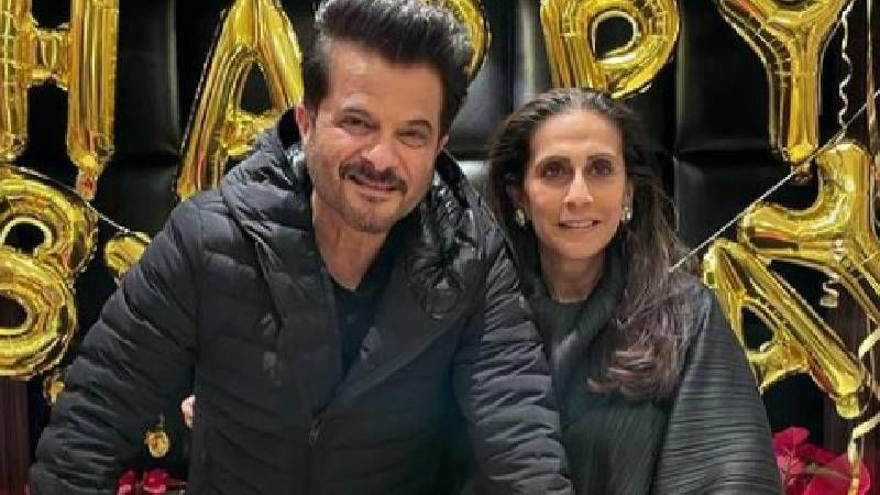 Anil Kapoor's Birthday Wish For The Love Of His Life Sunita Kapoor Is Straight From Heart; Actor Recalls Traveling In Third Class Train Compartments And More