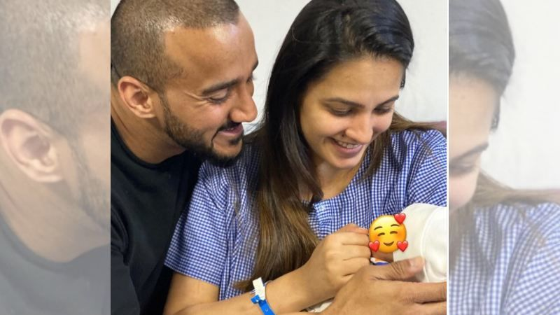 Anita Hassanandani Shares The Sweetest Picture Of Her Newborn Comparing Him To Father Rohit Reddy; Calls Him 'Dimple King'