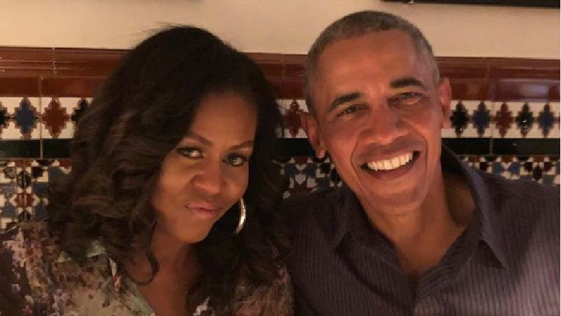 Former First Lady Of America Michelle Obama Gives A Bang On Answer To Jimmy Kimnel As He Asks Her About Her Sex Life With Barack Obama