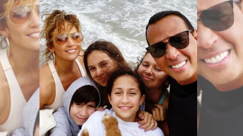 Jennifer Lopez And Alex Rodriguez' Kids Serve As A Major Factor For The Couple To Mend Ways - REPORT