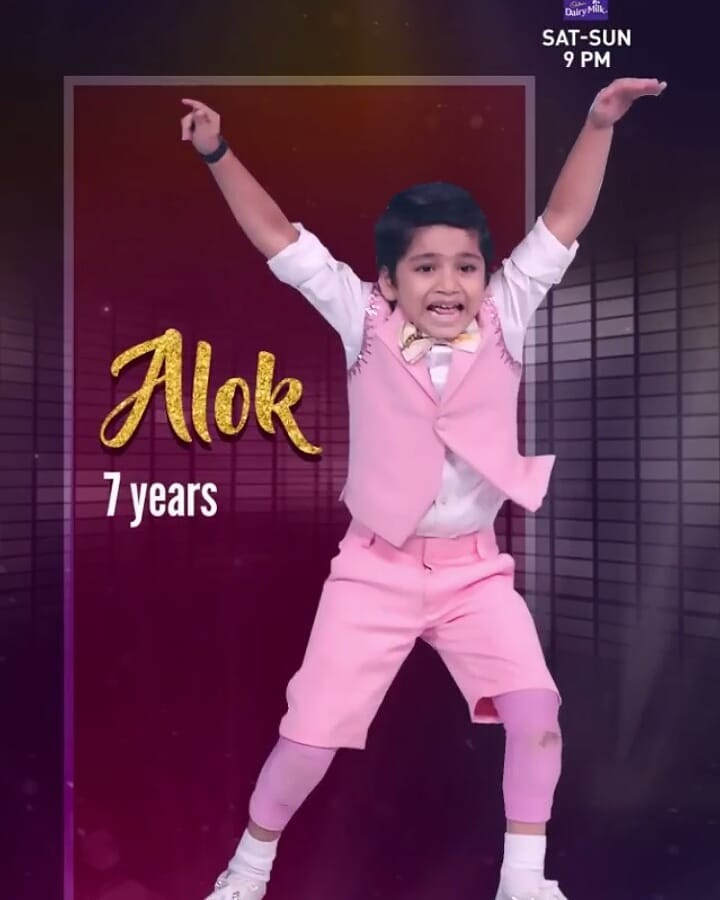 Aalok Shaw Waves Up In Excitement