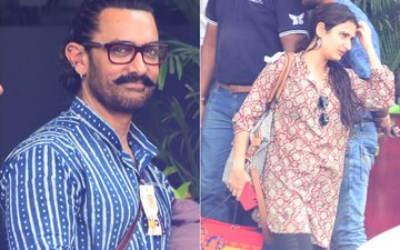 Aamir Khan & Fatima Sana Shaikh Return Together From Jodhpur