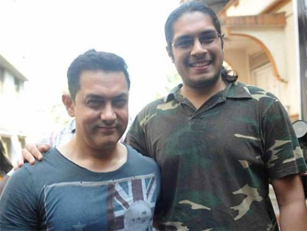 Aamir Khan With Junaid