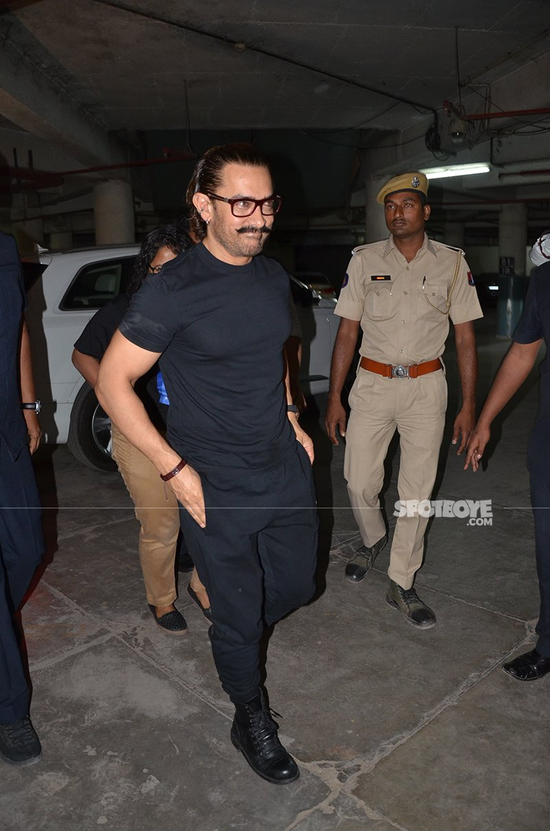 Aamir Khan spotted