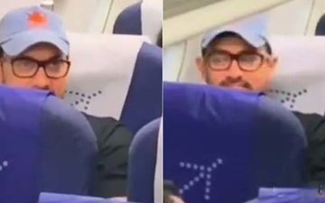 Aamir Khan Ditches Business Class Comfort, Travels In Economy- Watch Viral Video