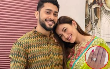 Gauahar Khan Is So Much In Love With Her Diamond Studded Engagement Ring That She Can Stare At It All Day Long; So Can We