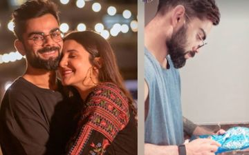 Pregnant Anushka Sharma Captures Virat Kohli Washing His Spikes With A Toothbrush; Now That's A Sight We Never Thought We'll See