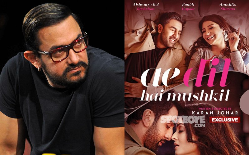 KEEPING A TAB ON HIS RIVALS: Aamir Khan's Hawk's Eye On Ae Dil Hai Mushkil...