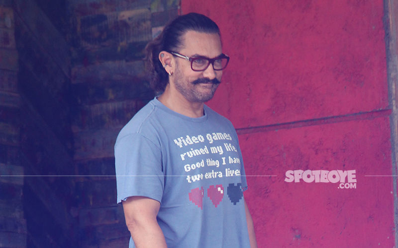 Self Pampering Time: Aamir Khan Unwinds At A Popular Spa