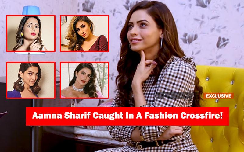 Aamna Sharif's CANDID RAPID FIRE: Komolika Picks Between Hina Khan, Mouni Roy, Deepika Padukone, Priyanka Chopra And More- EXCLUSIVE VIDEO