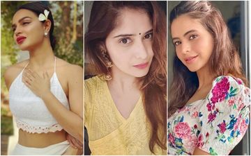 Naagin Star Aashka Goradia Shows Off Her Hot Pole-Dancing Skills; Arti Singh And Aamna Sharif Are Lovestruck – Video