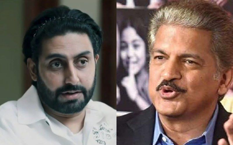 Anand Mahindra Makes A Post Asking People To Choose Two Pills; Abhishek Bachchan Has His Decision Sorted