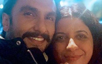 Ranveer Singh Visits A Salon To Prep For Look Test Of Zoya Akhtar's Upcoming Crime Drama?