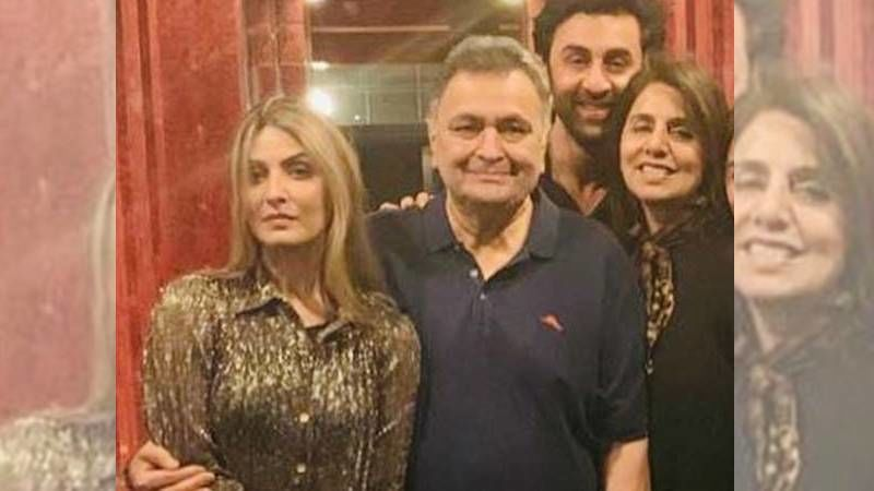 Neetu Kapoor Shares An Unseen Picture Of Ranbir Kapoor And Sister Riddhima With Rishi Kapoor's Photo Frame On World Siblings Day - Take A Look