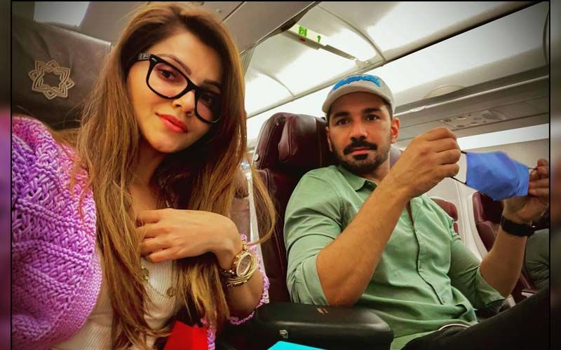 Bigg Boss 14 Winner Rubina Dilaik's Recent Too Hot To Handle Photos Get A Comment From Abhinav Shukla; Check It Out