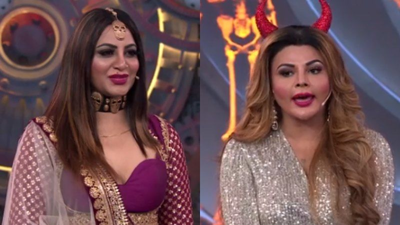 Bigg Boss 14: Arshi Khan Jokes Botoxed Rakhi Sawant Took Her To Get Her Lip Filler Done; Their Banter Is Hilarious AF