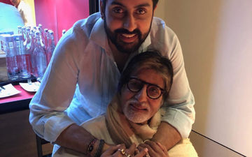 Amitabh Bachchan Shares Abhishek Bachchan's Handwritten Letter From His Childhood Days; AB Jr's Reaction Is LOL-Worthy