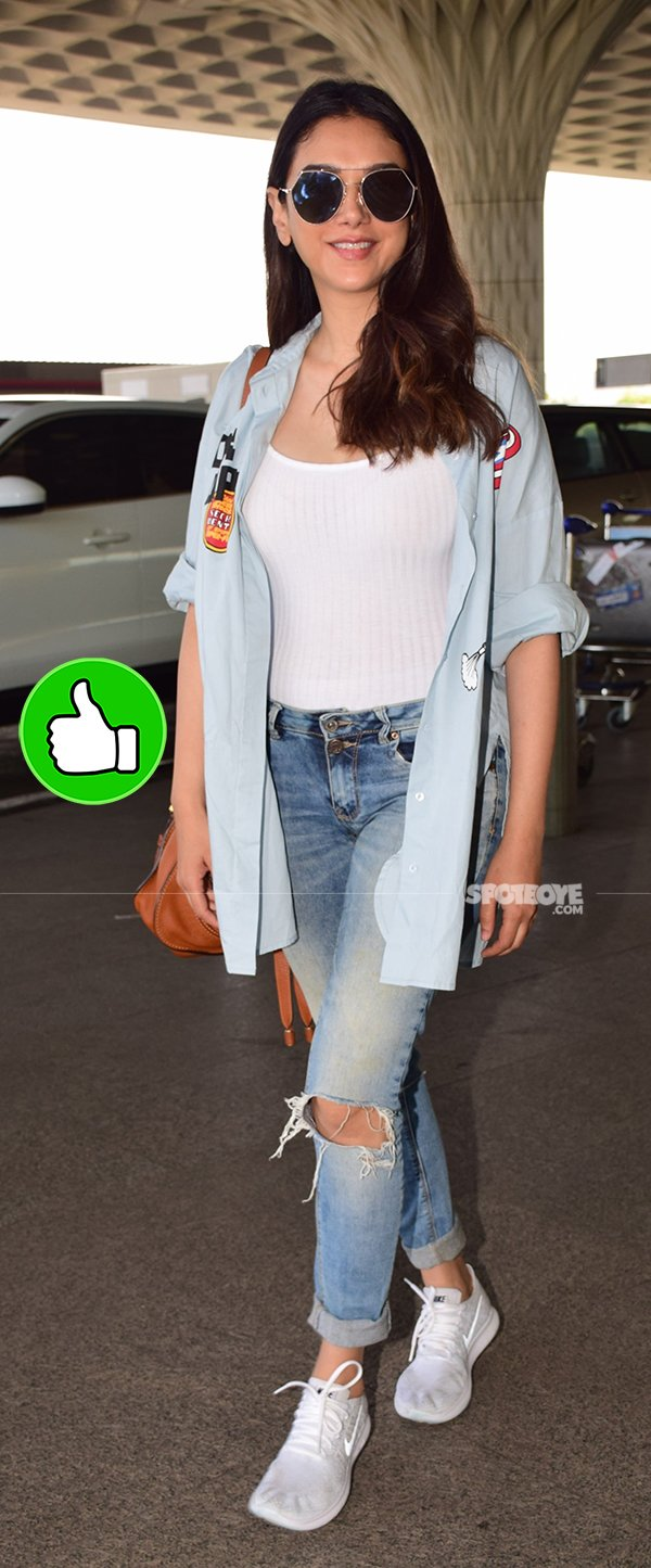 Aditi Rao Hydari At The Airport