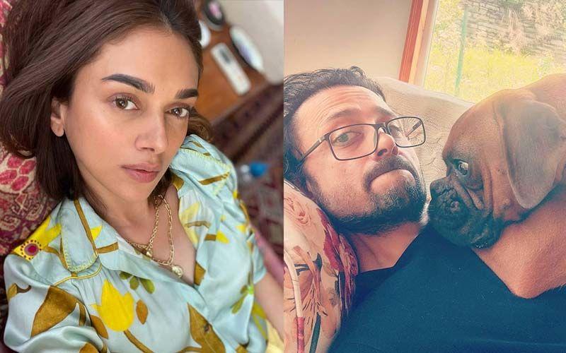 Aditi Rao Hydari Drops A Sweet Comment On Ex-Husband Satyadeep Misra's Awwdorable Pic With His Furry Friend