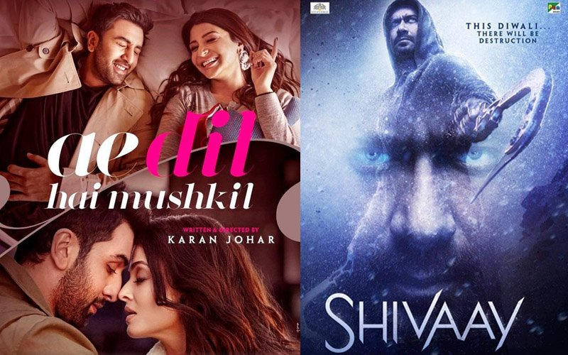Weekend Over, Ae Dil Hai Mushkil Running Ahead Of Shivaay