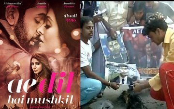Karan Johar's Ae Dil Hai Mushkil Releases Smoothly Amidst Few Silent Protests