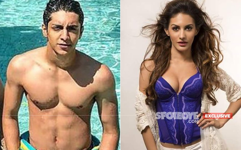 Ahaan Panday Gets Up, Close & Personal With Amyra Dastur