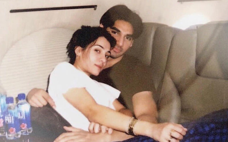 Suniel Shetty's Son Ahan Shetty Indulges In Some Adorable PDA With Girlfriend Tania Shroff, Leaves An 'I Love You' Post On Her Picture