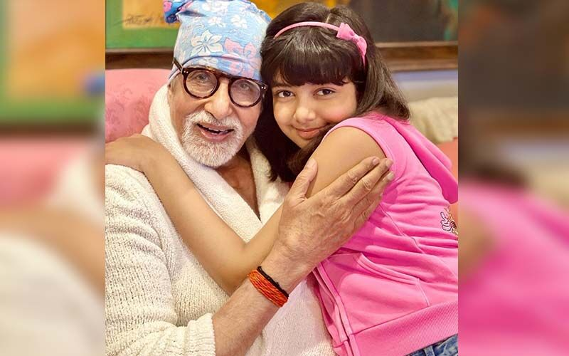 Aishwarya Rai Bachchan Gives A Glimpse Into Amitabh Bachchan's Birthday Celebrations, Drops An Adorable Picture Of Daughter Aaradhya Posing With Him