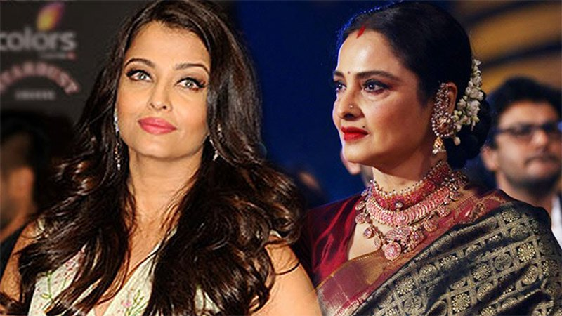 Aishwarya Rai And Rekha Share A Special Bond