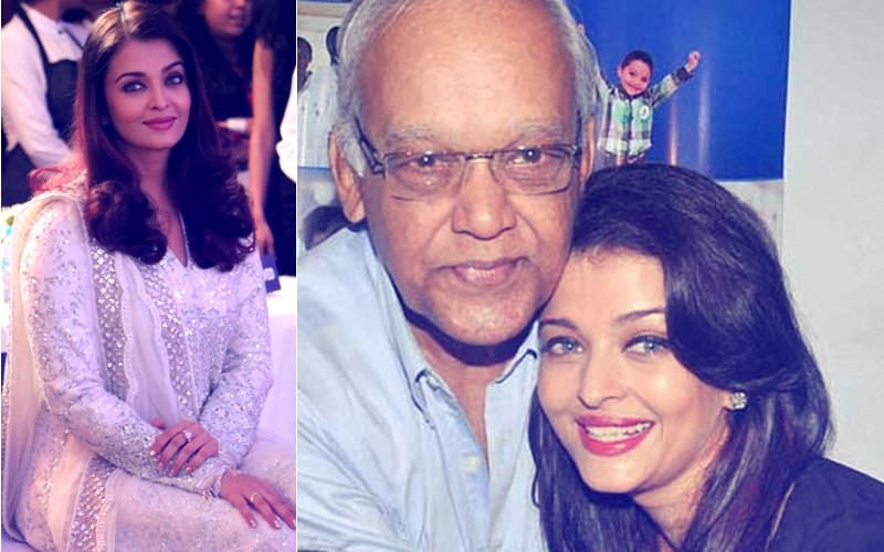 Aishwarya Rai Bachchan Gets Emotional While Speaking About Her Late Father Krishna Raj Rai