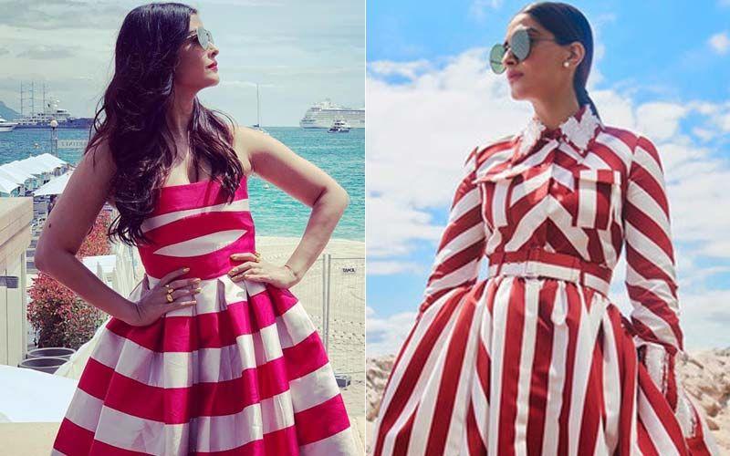 Cannes 2019: Aishwarya Rai Bachchan Repeats Sonam Kapoor's 2018 Christmas Candy Look