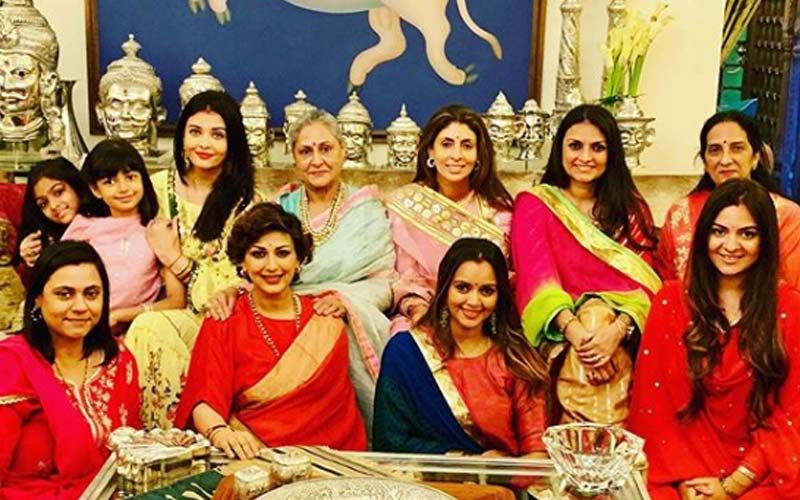 Aishwarya Rai Karwa Chauth 2019: Actress Celebrates With Jaya Bachchan, Shweta Bachchan Nanda And Sonali Bendre, Pictures Here