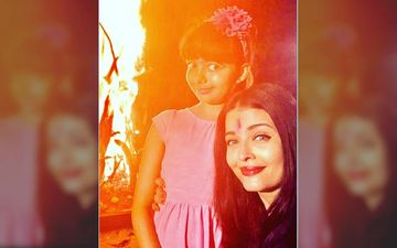 Holi 2020: Aishwarya Rai Bachchan And Aaradhya Bachchan Glow As They Perform Holika Dahan In Their Backyard
