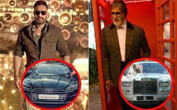 Ajay Devgn's Koffee With Karan Prize- Swanky Audi A5 Arrives; Amitabh Bachchan Bids Goodbye To His Rolls Royce