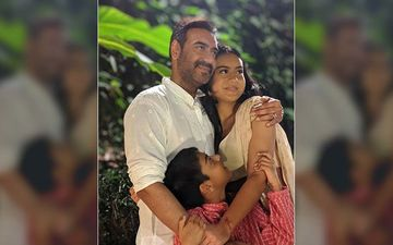Ajay Devgn Birthday Special: Cutest Moments Of The Singham Star With His Kids Nysa And Yug Devgn