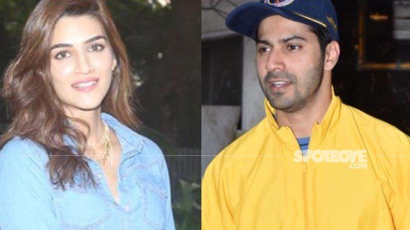 Bhediya: Varun Dhawan And Kriti Sanon Pose For Pics As The Actress Calls It A Wrap; Handsome Hunk Gives A LEGIT Reason For Not Wearing A Mask