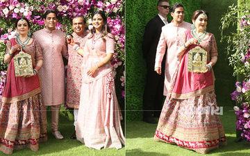 आकाश अंबानी और श्लोका मेहता की शादी के मौके पर रॉयल अवतार में दिखा अंबानी परिवार: देखिए तस्वीरें