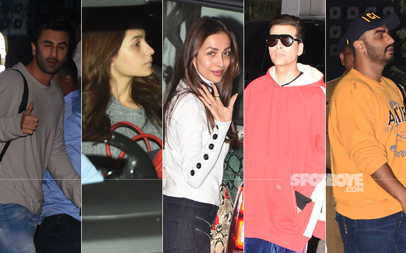 Akash Ambani Pre-Wedding Celebrations: Ranbir Kapoor-Alia Bhatt, Malaika Arora-Arjun Kapoor Dash Off To Switzerland