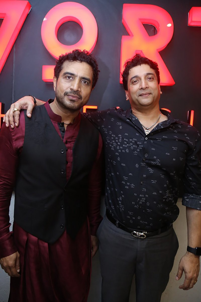Akbar Sami With Shetty