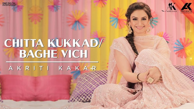 Singer Akriti Kakar Comes up With New Version of Punjabi Folk Songs