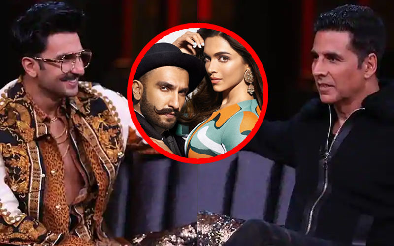 """Ranveer Singh Ke Saath Rehna Matlab Hats Off To Deepika Padukone"": Akshay Kumar On Koffee With Karan 6"