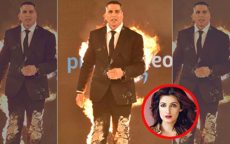 Akshay Kumar's Fire Stunt Pisses Off Twinkle Khanna; Calls It 'Crap'