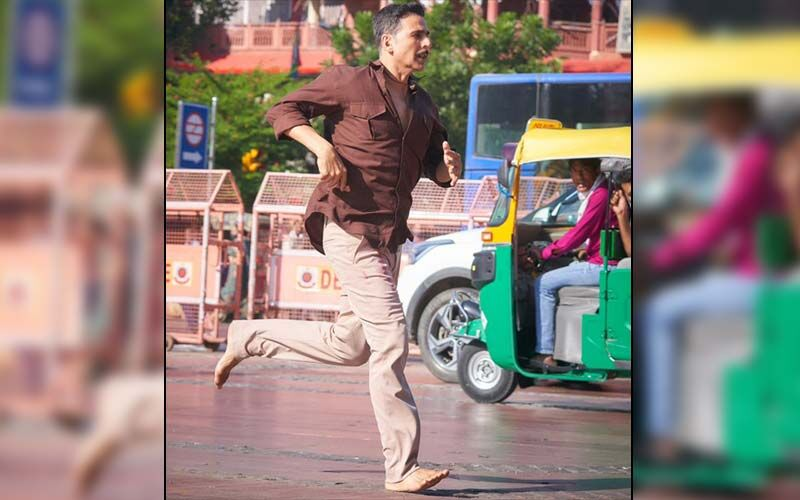 Raksha Bandhan: Akshay Kumar Shares On-Set Video As He Goes For A Morning Run While Shooting For The Film At His Birthplace 'Chandni Chowk' -WATCH