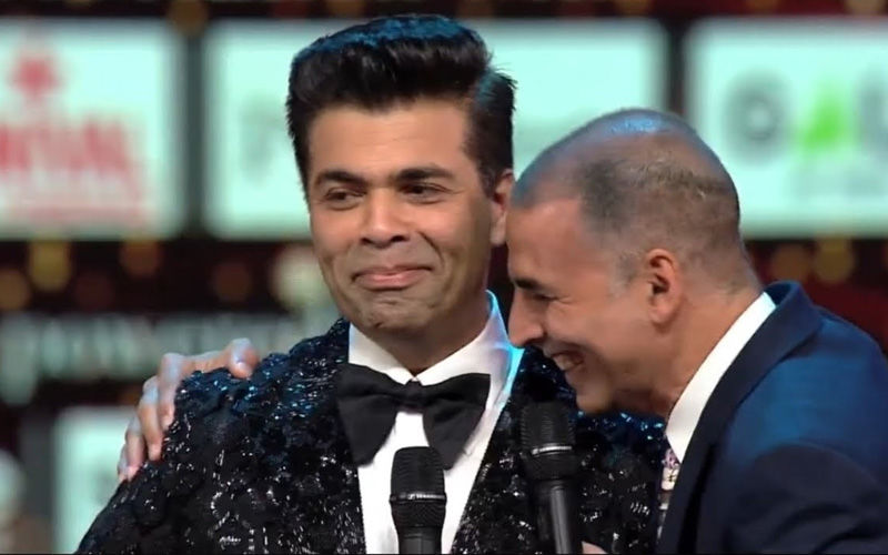 Akshay Kumar Pulls Karan Johar's Leg As He Wishes Akki By Plugging His Next, Good News