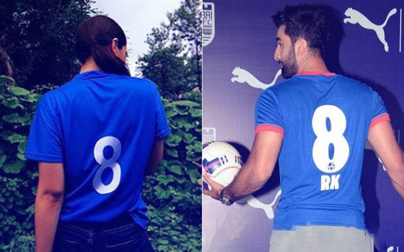 Alia Bhatt Flaunts Ranbir Kapoor's Favourite Jersey Number On Her Tee: Major PDA Alert