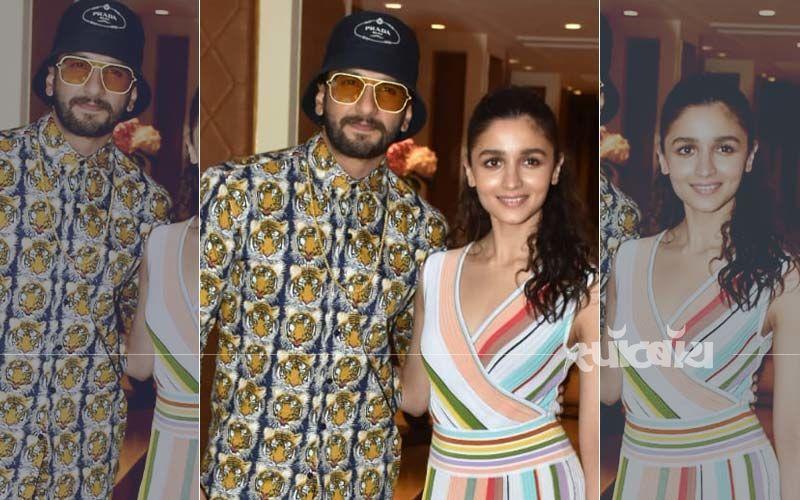 देखिये आलिया भट्ट और रणवीर सिंह का 'रंगीन' गली बॉय प्रमोशन