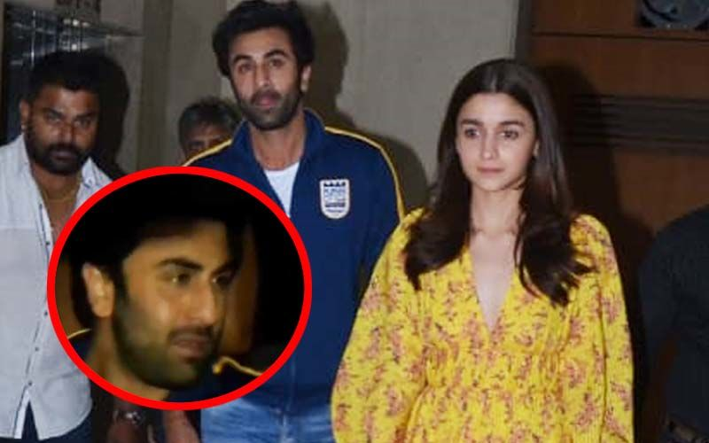 "Ranbir Kapoor Captured Irritated And Angry As He Talks To Alia Bhatt; Netizens Ask Actress, ""Why Are You Dating Him?""- Watch Video"
