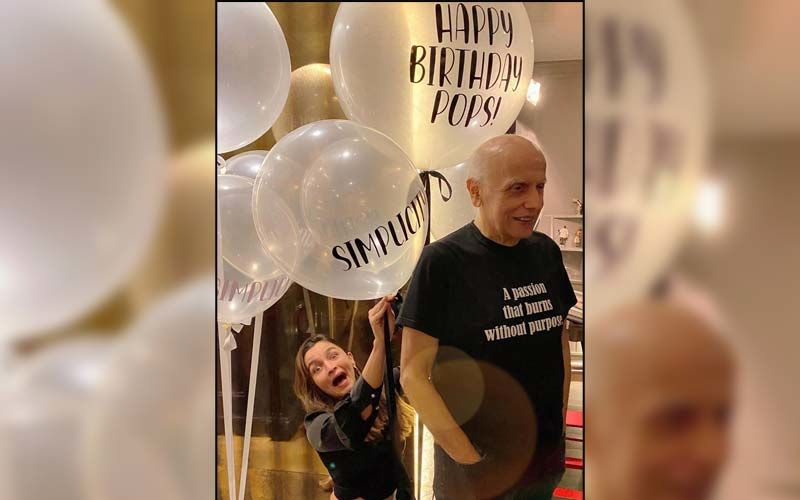 Alia Bhatt Turns 'Setting Girl' For Dad Mahesh Bhatt's Birthday Celebrations